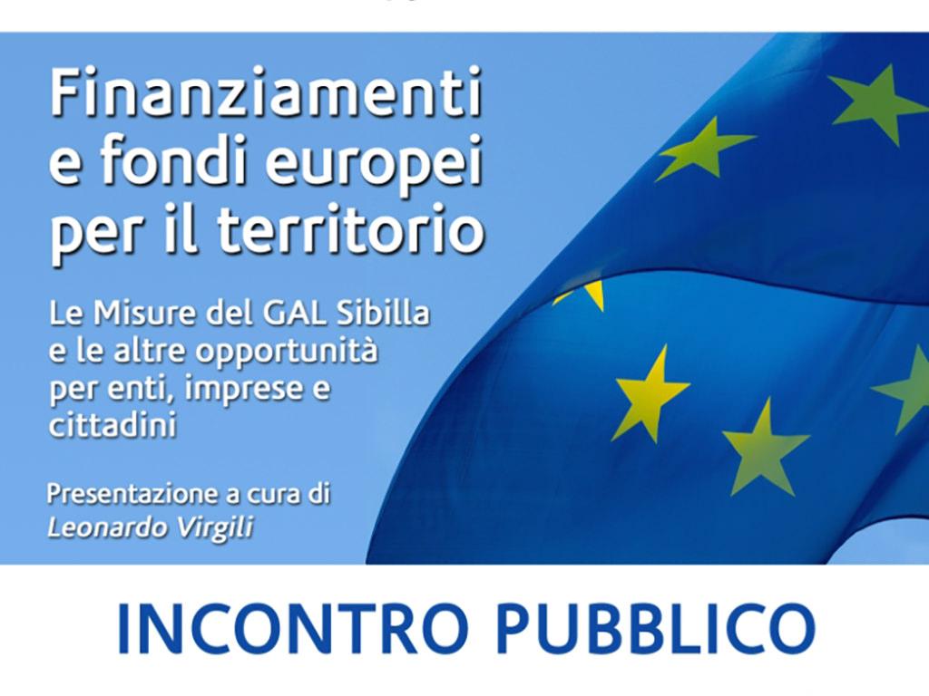 Finanziamenti e fondi europei per il territorio